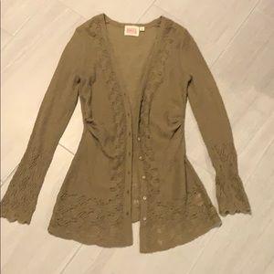 ROSIE NEIRA Fuzzy Sweater/Cardigan!